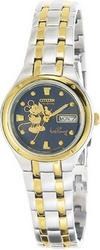 Citizen Eco-Drive Disney Mickey Mouse Ladies' Watch EW3074-54M