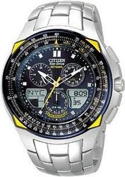 Citizen Blue Angels Skyhawk - Stainless with Stainless Bracelet