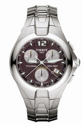 Mens Tissot Titanium Chronograph Watch T65.7.587.71