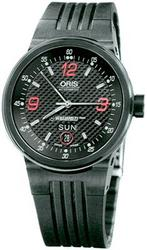 New Oris WilliamsF1 Team Day Date Mens Watch 63575604754RS