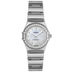Omega Cindy Crawford Constellation Ladies Watch 1465.71