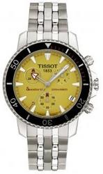Tissot Diver Seastar Yellow Mens Watch T19.1.485.71